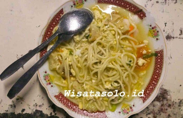 Bakmi Jawa Wisata kuliner Solo