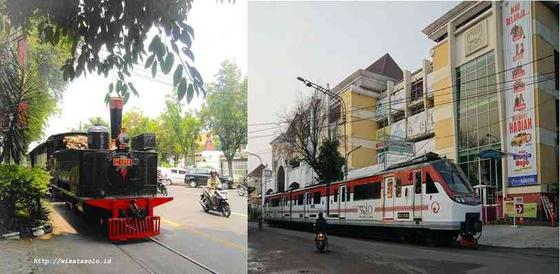 transportasi kereta api di kota Solo